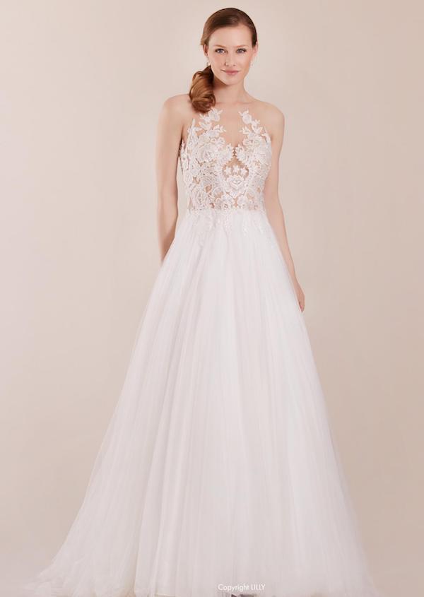 robe lilly les mariées du faubourg vernet monteux vaucluse provence