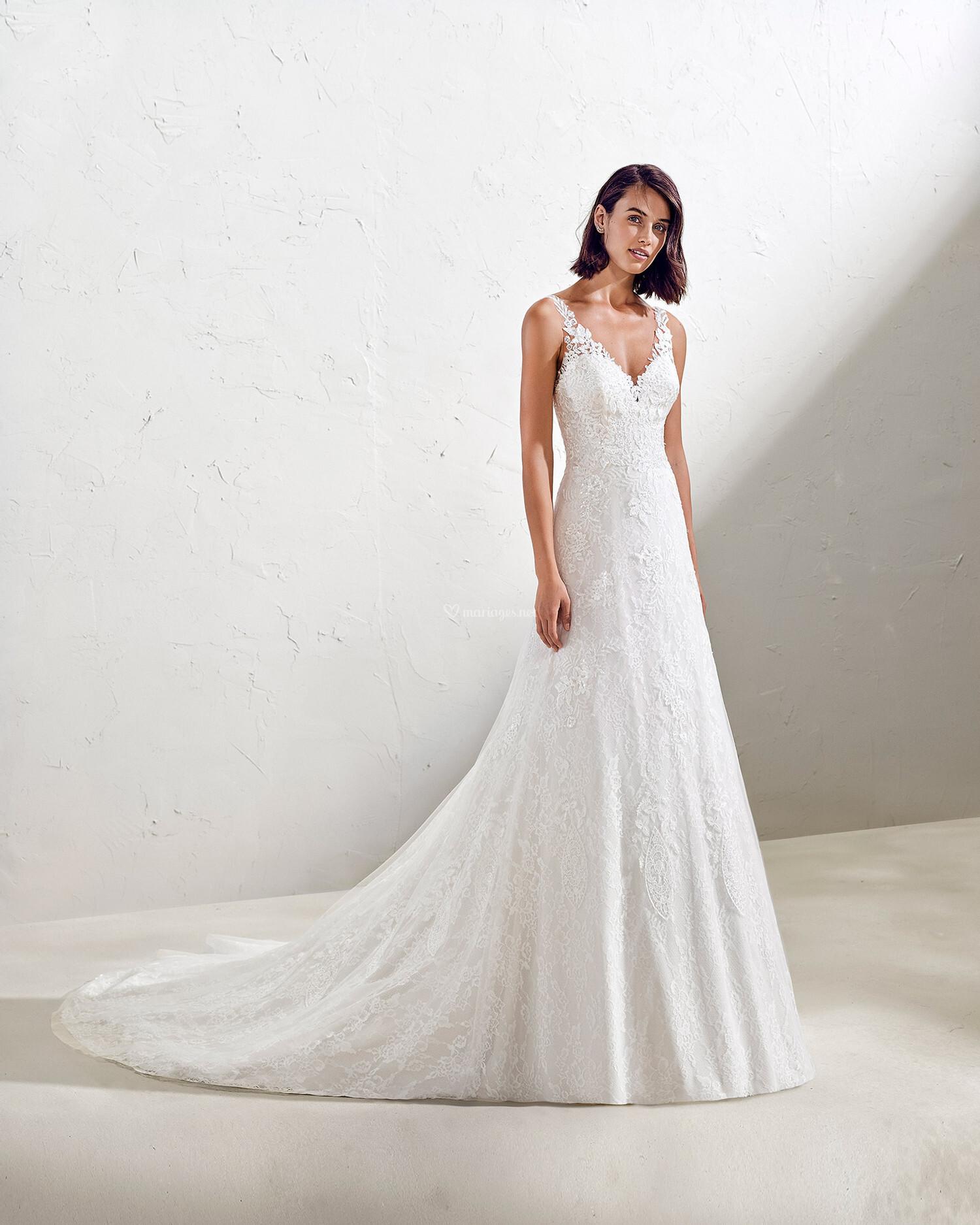 robe fidel adriana alier les mariées du faubourg vernet robes de mariées monteux vaucluse