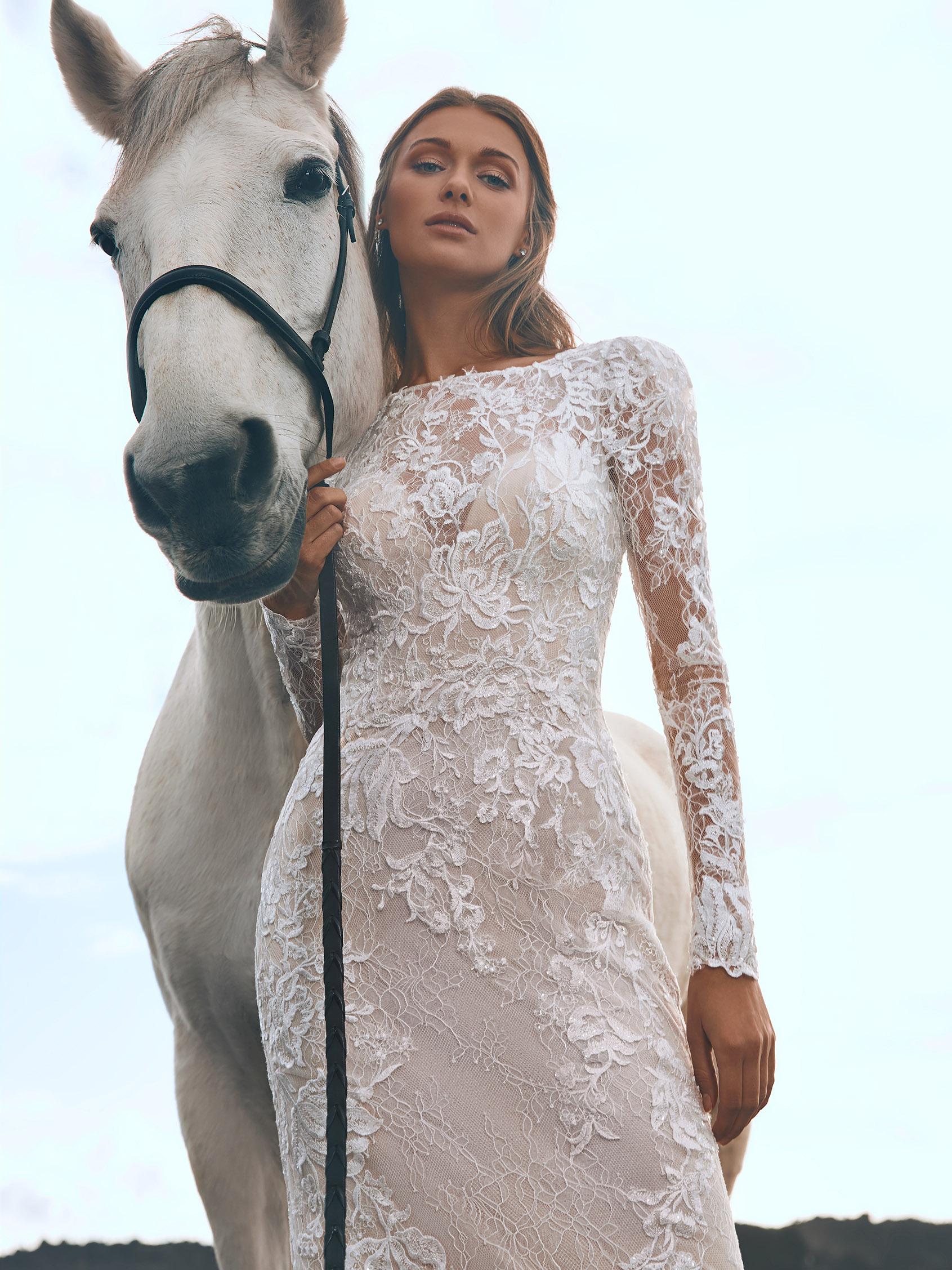 pronovias robes de mariées mariage vaucluseles mariées du faubourg vernet